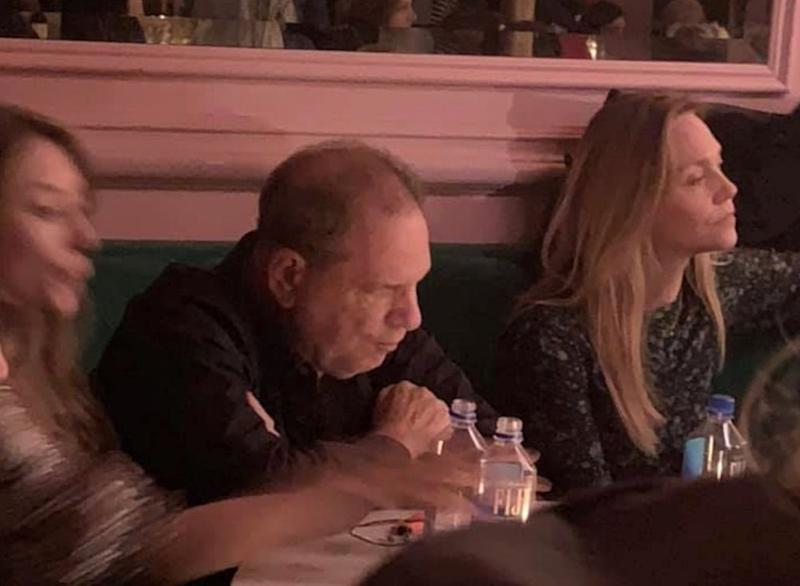 Harvey Weinstein resurfaces at NYC bar, promptly confronted by three women