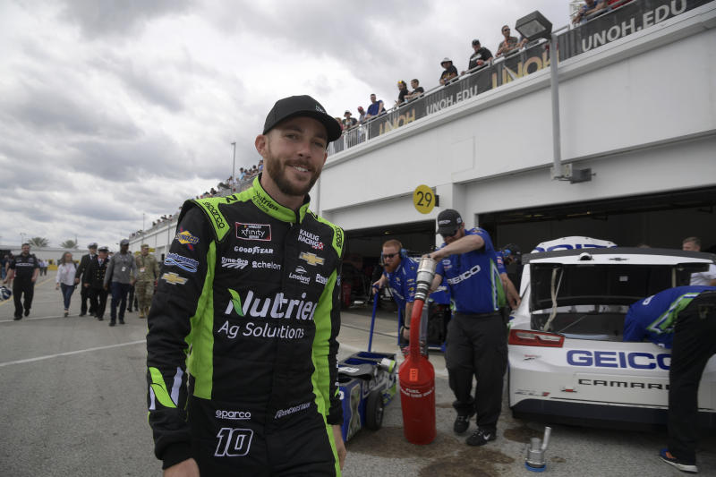 At 26, Ross Chastain relishing NASCAR opportunities