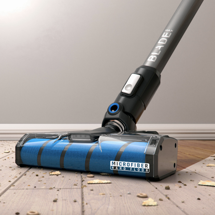 """With up to 45 minutes of cordless cleaning between charges, this vacuum easily converts from a stick to a handheld for cleaning convenience. $350, Best Buy. <a href=""""https://www.bestbuy.com/site/hoover-onepwr-blade-max-cordless-handheld-stick-vacuum-gray/6373035.p?skuId=6373035"""" rel=""""nofollow noopener"""" target=""""_blank"""" data-ylk=""""slk:Get it now!"""" class=""""link rapid-noclick-resp"""">Get it now!</a>"""
