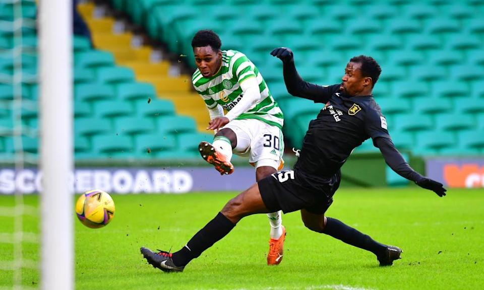 Neil Lennon said he felt 'a bit let down' by the imminent exit of Jeremie Frimpong.