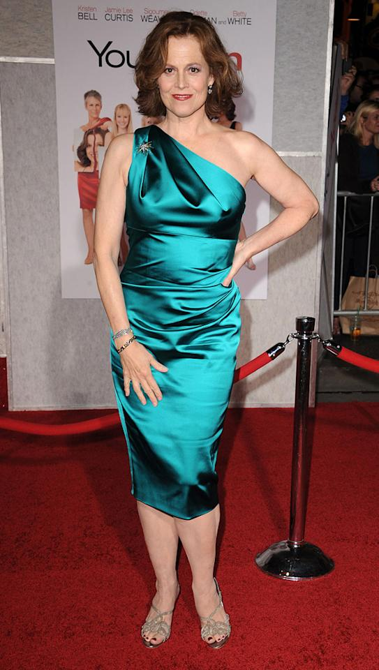 "<a href=""http://movies.yahoo.com/movie/contributor/1800015109"">Sigourney Weaver</a> attends the Los Angeles premiere of <a href=""http://movies.yahoo.com/movie/1810111331/info"">You Again</a> on September 22, 2010."