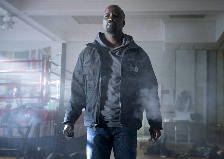 Mike Colter in 'Luke Cage' (Credit: Myles Aronowitz/Netflix)