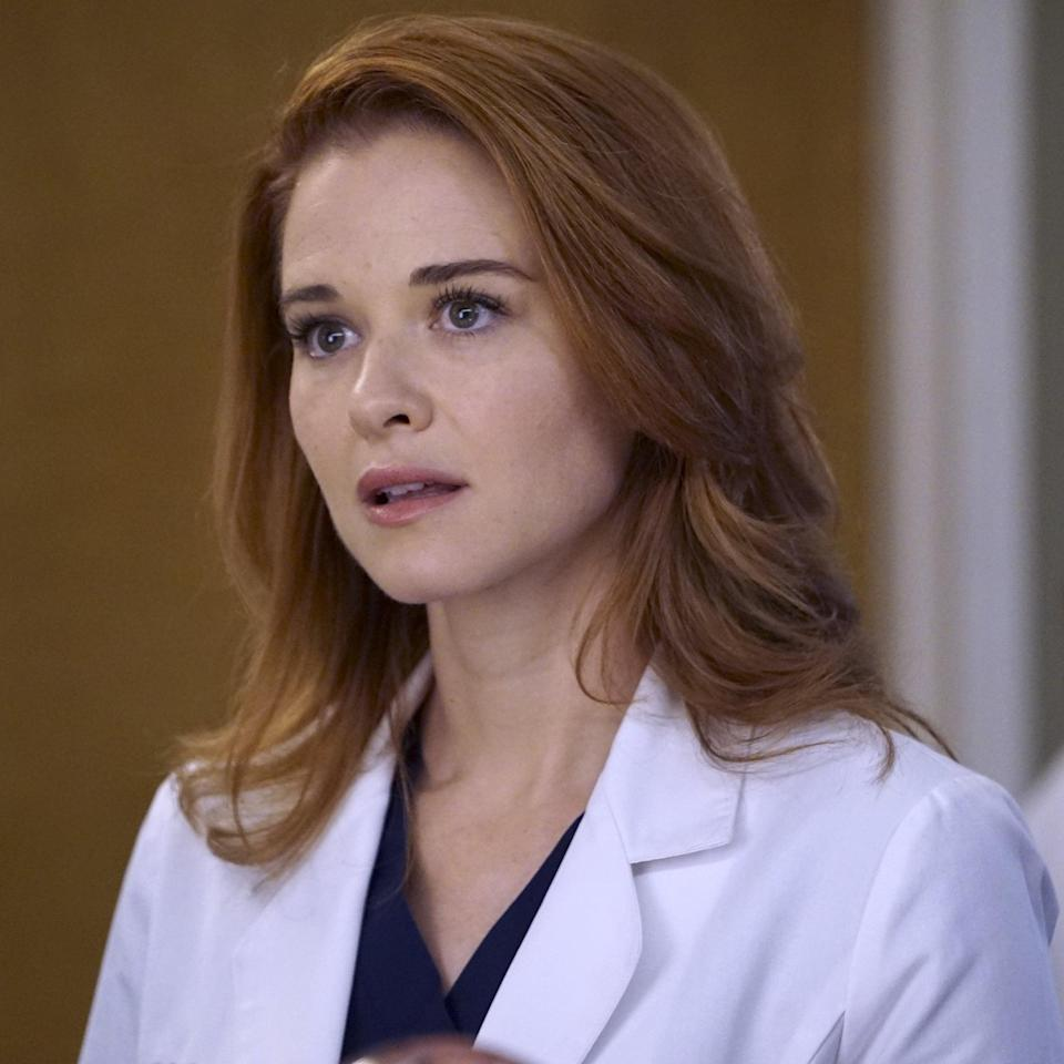 When the writers of Grey's Anatomy claimed that they were writing Sarah Drew's character, April Kepner, off the show for creative reasons, I was . .