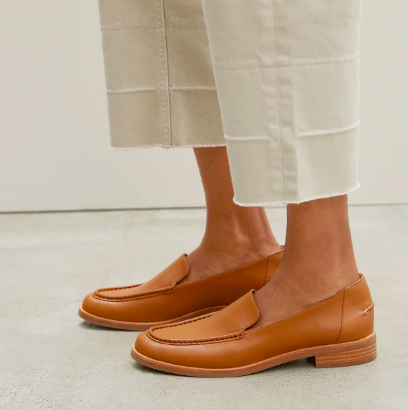 The Modern Loafer in Camel. Image via Everlane.
