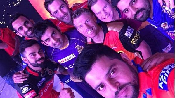 All Captains of IPL Season 10 Come Together for a Groupfie