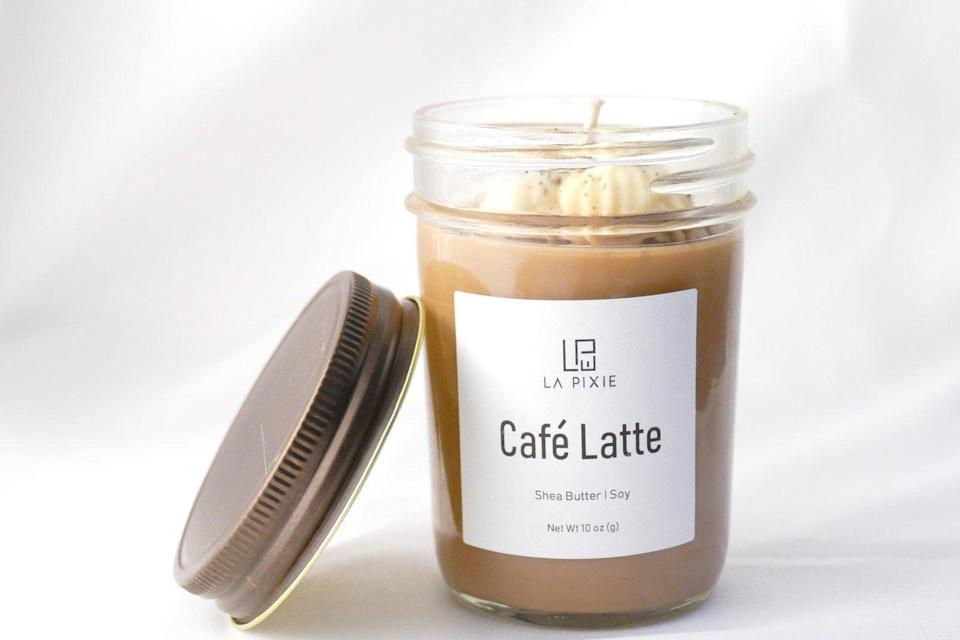 "<p>lapareawellness.com</p><p><strong>$20.00</strong></p><p><a href=""https://lapareawellness.com/collections/candles/products/coffee-candle-8oz-mason-jar-soy-candle-vanilla-coffee-latte-candle-aromatherapy-candle-hand-poured-candle-handmade"" rel=""nofollow noopener"" target=""_blank"" data-ylk=""slk:Shop Now"" class=""link rapid-noclick-resp"">Shop Now</a></p><p>The coffee lover in your circle will swoon over this latte-inspired scented candle, in which 10 percent of proceeds go to <a href=""https://oasisnj.org/"" rel=""nofollow noopener"" target=""_blank"" data-ylk=""slk:Oasis"" class=""link rapid-noclick-resp"">Oasis</a>, a New Jersey-based non-profit dedicated to providing educational programs that help women enter the workforce.</p>"
