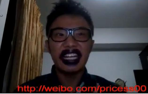 Wang's video has attracted the attention of foreign Chinese media. (Screengrab: Youtube)