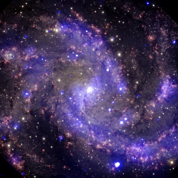 Rivers of Hydrogen Gas May Fuel Spiral Galaxies