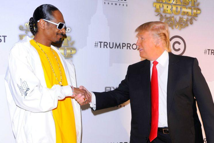 Trump responds to video of Snoop Dogg aiming gun at clown lookalike
