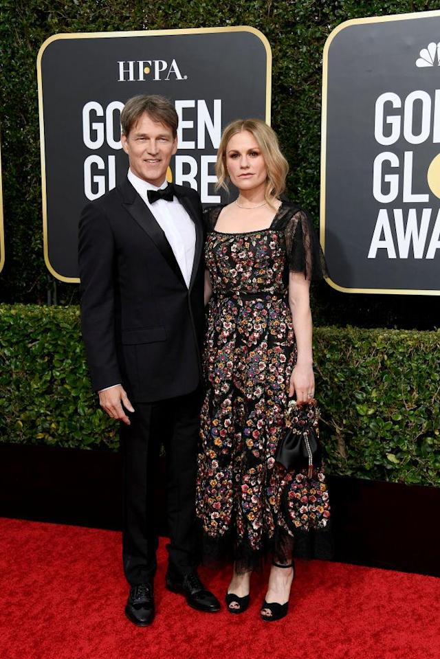 Anna Paquin e Stephen Moyer. Foto: Getty Images