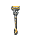 <p>Does your dad always complain about stubble and irritation? No more with this Gillette razor that has the thinnest blade the company has to offer. To make things even smoother, it has lubricated strips in between the blades to keep nicks and irritation to a minimum. <i>($15 via Gillette)</i></p>