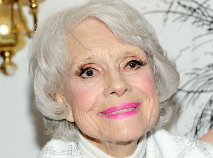 """Actress Carol Channing, whose incandescent performances as the gold-digging Lorelei Lee in """"Gentlemen Prefer Blondes"""" and the matchmaker Dolly Gallagher Levi in """"Hello, Dolly!"""" made her a Broadway legend, died on Jan. 15, 2019. She was 97."""