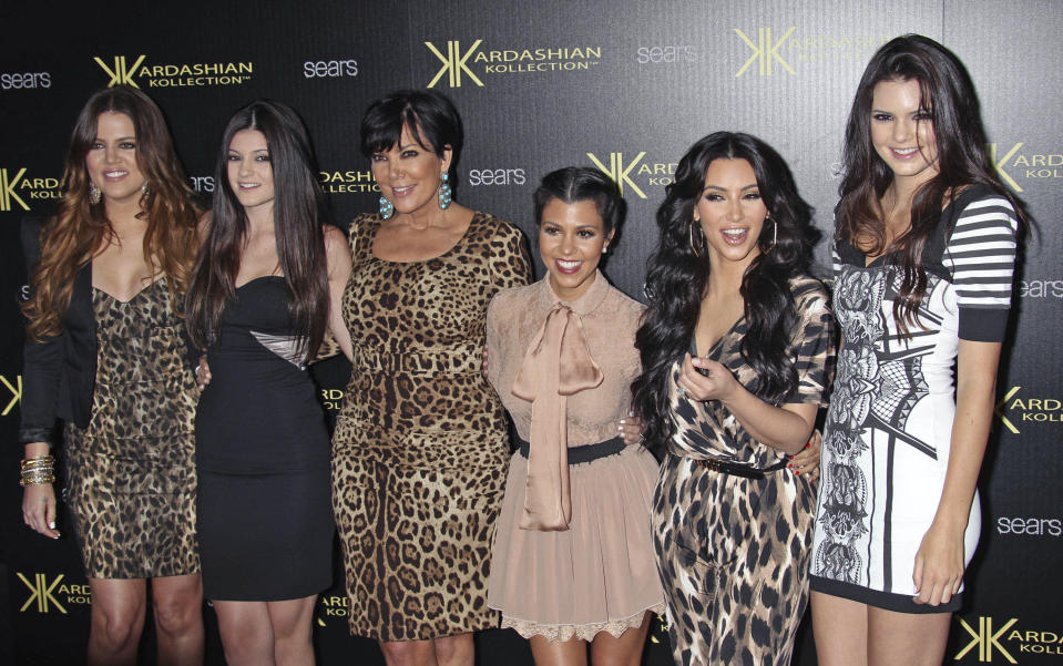 "SEPTEMBER 8th 2020: ""Keeping Up With The Kardashians"" will be coming to an end with the final season airing in early 2021. The popular reality television show aired for 20 seasons over 14 years on E! Entertainment Television. - File Photo by: zz/RE/Westcom/STAR MAX/IPx 2011 8/17/11 Khloe Kardashian, Kylie Jenner, Kris Kardashian, Kourtney Kardashian, Kim Kardashian and Kendall Jenner at the launch of the Kardashian Kollection. (Hollywood, CA)"