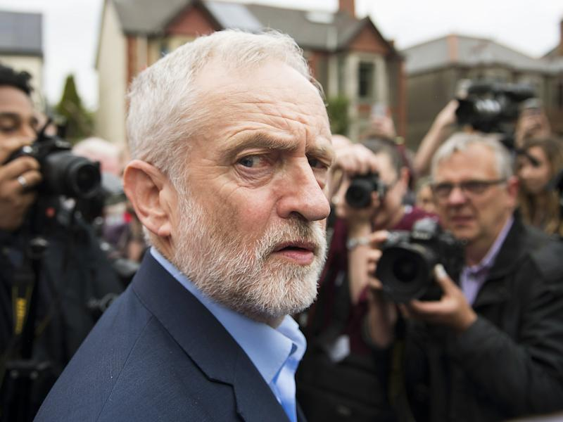 Mr Corbyn has been accused of not proactively fighting the perception of anti-Semitism: Getty Images