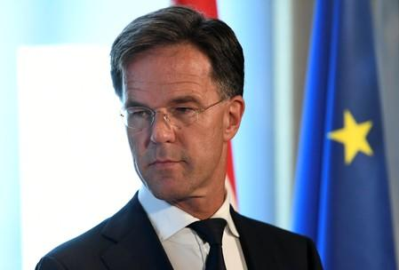 FILE PHOTO: Dutch Prime Minister Rutte meets with German Chancellor Merkel in The Hague