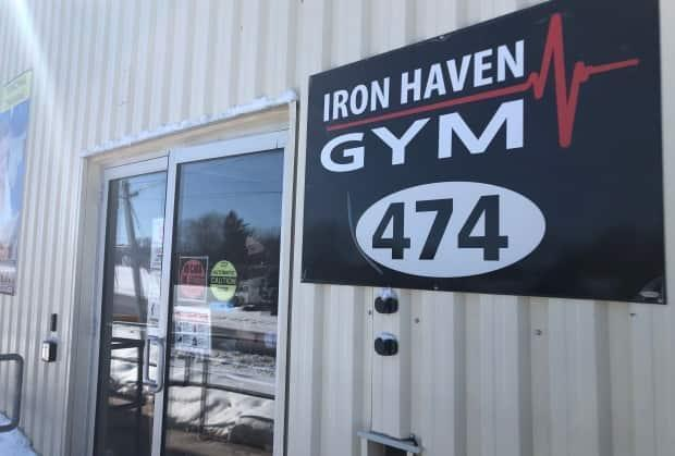 Iron Haven Gym in Summerside is one of three possible exposure sites to COVID-19 listed by officials Friday.