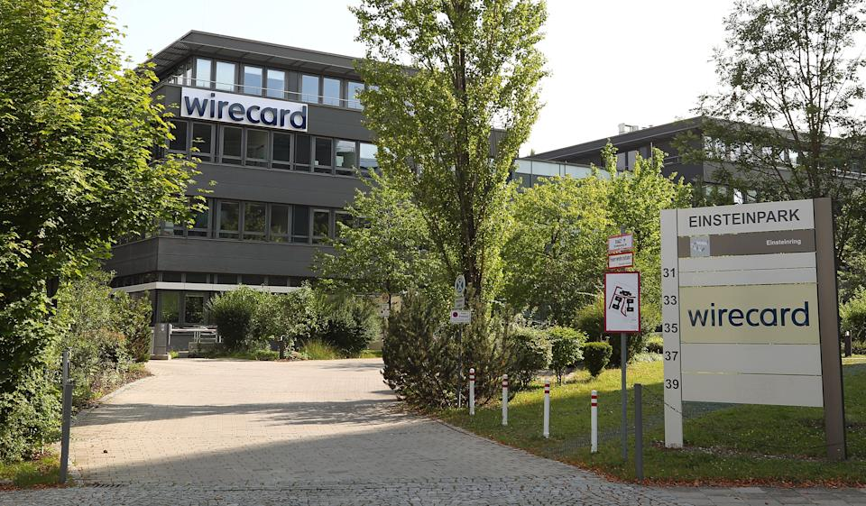 The headquarters of Wirecard AG, an independent provider of outsourcing and white label solutions for electronic payment transactions is seen in Aschheim near Munich, Germany, July 22, 2020. REUTERS/Michael Dalder