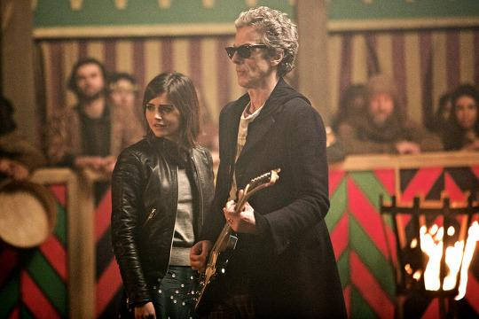 <p>You don't often find professional wrestling and <i>Doctor Who</i> in the same sentence, but there's really no other way to describe it. Actor Peter Capaldi (who plays the Twelfth Doctor) knows his way around a guitar (he was in a punk band with former late night host Craig Ferguson back in the '80s) and the series is not shy about letting him show off his skills. Imagine the most egregious pro wrestling entrance of all time — blasting a guitar solo and riding a military tank into the arena — only, instead of a squared circle in 1999, it's a gladiator pit in the Middle Ages. And instead of fighting some guy named The Viking, the Doctor was fighting an actual Viking. It's a special kind of anachronistic madness that only Doctor Who could pull off.<i>— RC</i></p><p><i>(Credit: BBC America)</i></p>