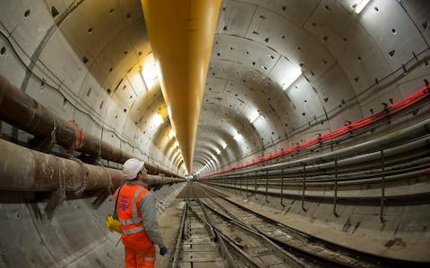 London's sewer upgrade - Credit: Paul Grover