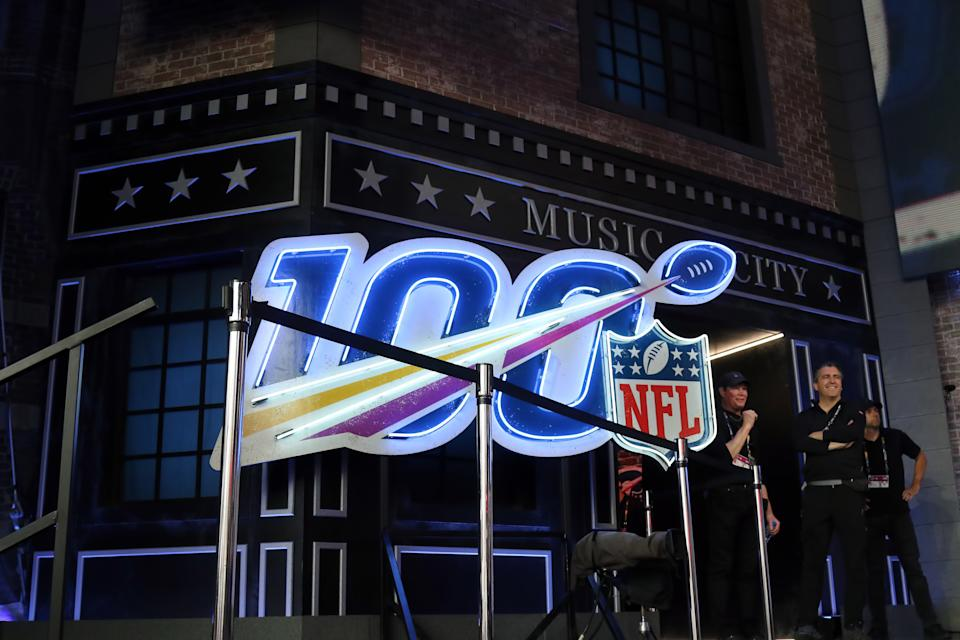 Streaming service DAZN is interesting in bidding on NFL rights, which would mark a major push into the U.S. market (Getty Images)