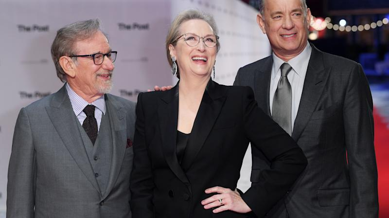 When it comes to Hollywood power trios, there are few that shine as brightly as Meryl Streep, Tom Hanks and Steven Spielberg.