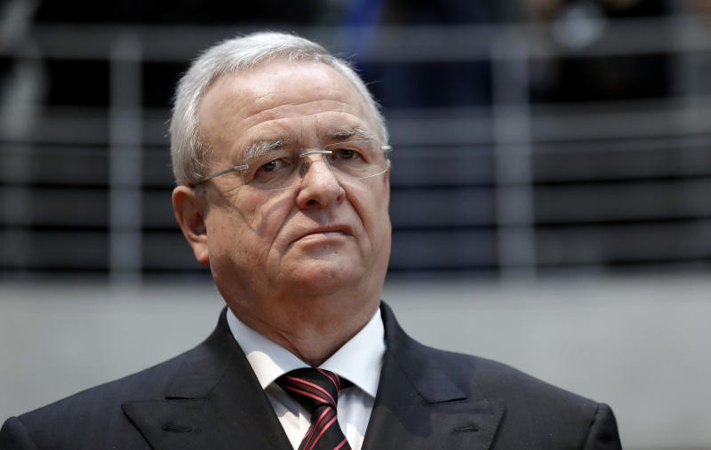 SEC charges Volkswagen, former CEO with defrauding investors