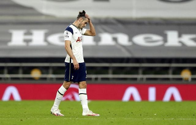 Gareth Bale almost scored late on