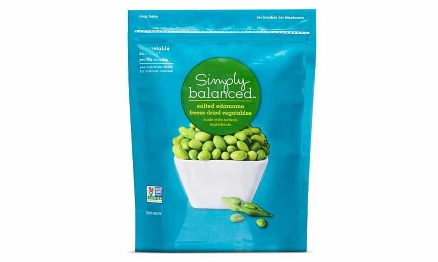 "<p>""With 12 grams of protein and 4 grams of fiber per serving, these freeze-dried <a rel=""nofollow"" href=""http://www.self.com/story/10-foods-that-have-more-protein-than-an-egg?mbid=synd_yahoofood"">edamame</a> help regulate appetite and energy levels,"" Edwina Clark, M.S., R.D., C.S.S.D., and head of nutrition and wellness at <a rel=""nofollow"" href=""http://www.yummly.com/?mbid=synd_yahoofood"">Yummly</a>, tells SELF. They're salty, delicious, and perfect for snacking—a great alternative to potato chips or pretzels.</p>"