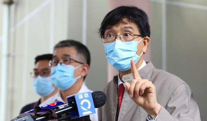 Professor Yuen Kwok-yung says side effects during late-stage trials should not be cause for alarm. Photo: Dickson Lee