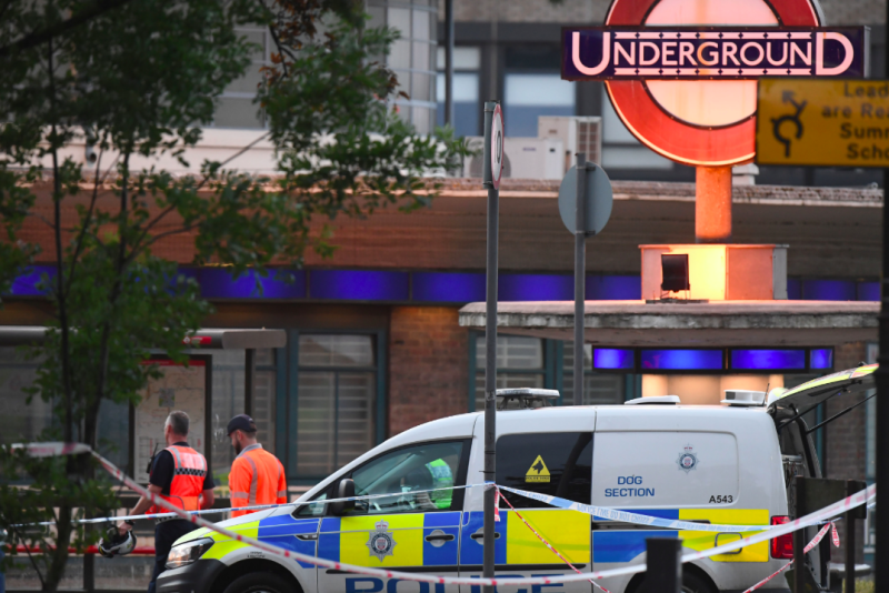 Man arrested over Southgate Tube station explosion