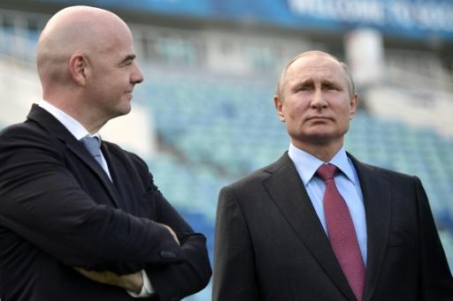 Putin helped bring the World Cup to Russia and is intrinsically linked with its enduring success