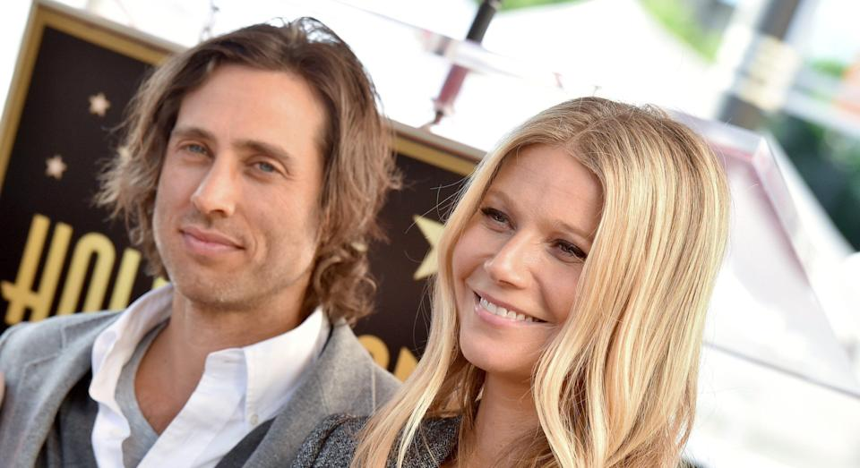 Gwyneth Paltrow has defended her decision to live apart from husband Brad Falchuk [Image: Getty]