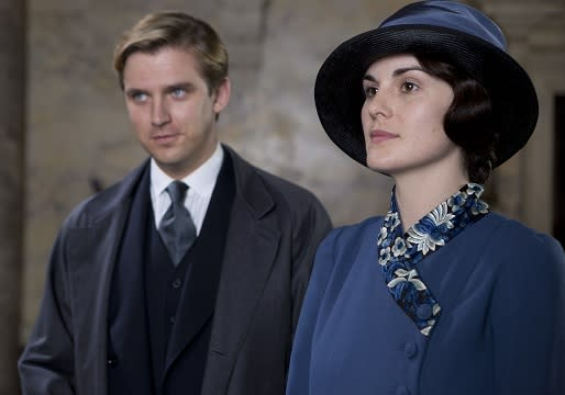"""Downton Abbey's"" Matthew and Mary (PBS/Masterpiece)"