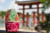 """<p>Shaved ice with flavored syrup and condensed milk made this treat popular during the Heian period in ancient Japan. Disney used the same recipe at its Japan Pavilion at <a href=""""https://disneyworld.disney.go.com/events-tours/epcot/world-showcase-destinations/"""" rel=""""nofollow noopener"""" target=""""_blank"""" data-ylk=""""slk:Epcot's World Showcase"""" class=""""link rapid-noclick-resp"""">Epcot's World Showcase</a>. </p>"""