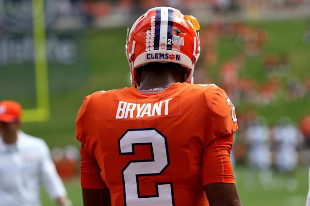 QB Kelly Bryant lost his starting job at Clemson but has one final chance to impress NFL draft scouts in his last season at Missouri. (Getty Images)