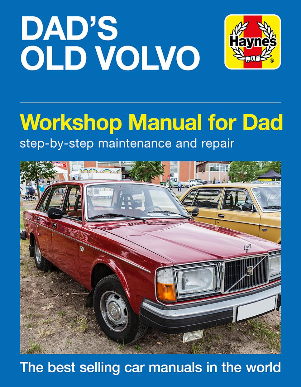 The Haynes manual can be personalised with your father's name