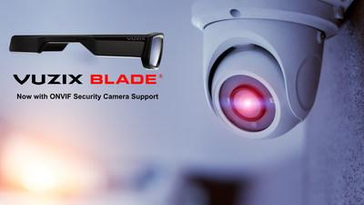 Vuzix Announces ONVIF Security Camera Support for its full Line of Smart Glasses
