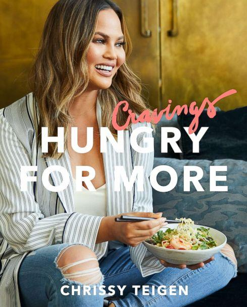 PHOTO: Chrissy Teigen is out with a new cookbook, 'Cravings: Hungry for More.' (Clarkson Potter)
