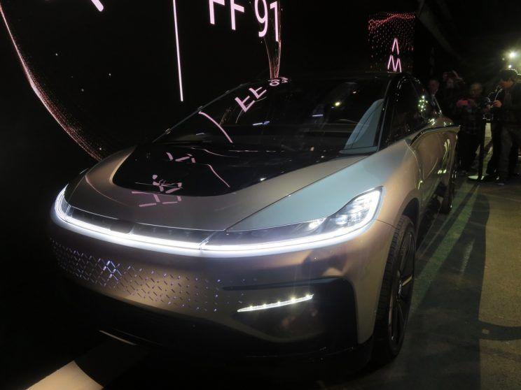 Faraday Future is one of the fails from last year's CES.