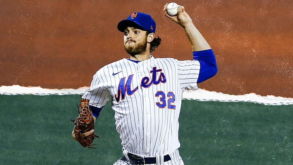 Steven Matz delivers a pitch TREATED ART