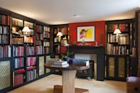 <p>It might not be as grand as the library in <em>Beauty and the Beast</em>, but you can still create an elegant space to house your tomes.</p>