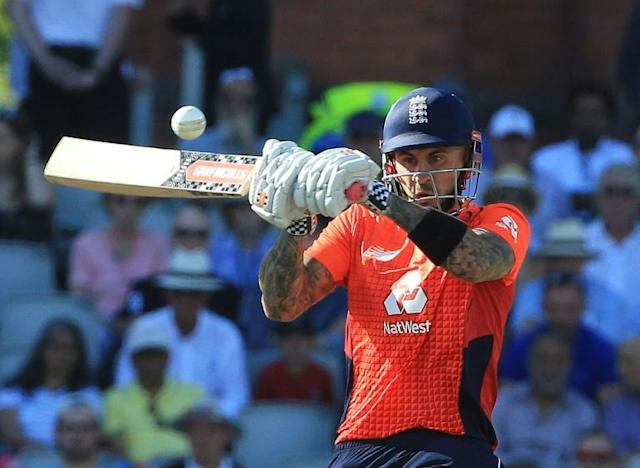 Frozen out - Alex Hales was omitted from the England training group announced Friday (AFP Photo/Lindsey PARNABY)