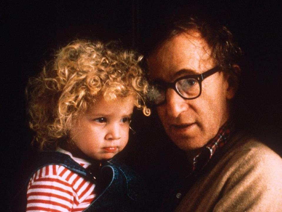 Dylan Farrow and Woody Allen in 1988Photoreporters/Shutterstock