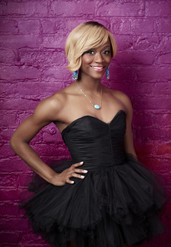 """Amber Jackson (21), is a Contemporary dancer from Atlanta, GA, on """"So You Think You Can Dance."""""""