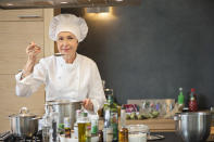 <p>Is your food constantly being craved and admired? Why not try catering in retirement. Solid customer service skills are a must with this line of work. Average hourly pay is $14.51. (Getty) </p>