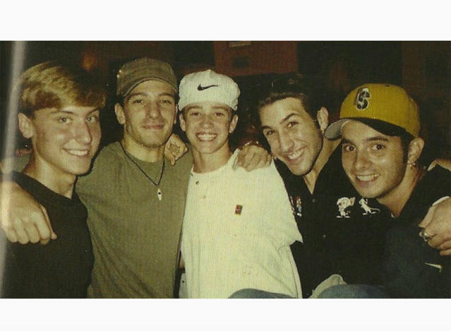 """<p>The guys of NSync were perfect to teens everywhere, even (especially?) when they were wearing matching outfits or performed their synchronized dance moves. Now we're embarrassed remembering. (Photo: <a href=""""https://www.instagram.com/p/BZtzD7sFj8y/?taken-by=lancebass"""" rel=""""nofollow noopener"""" target=""""_blank"""" data-ylk=""""slk:Lance Bass via Instagram"""" class=""""link rapid-noclick-resp"""">Lance Bass via Instagram</a>) </p>"""