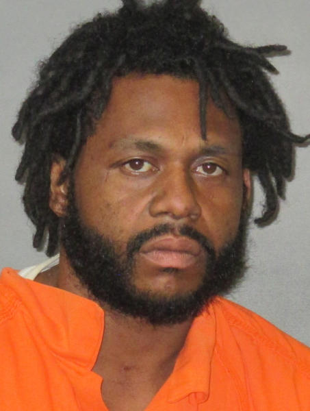 This undated photo provided by the East Baton Rouge Parish Sheriff's Office shows Reynard Green. The Louisiana State Police on Monday, April 22, 2019, revealed an extraordinary security breach at the Governor's Mansion, saying they had arrested a man last week who trespassed into the building and damaged property before falling asleep on a couch. Green was booked Wednesday on counts including simple burglary, criminal trespass and criminal damage to property. It was not immediately clear whether he had an attorney. (East Baton Rouge Parish Sheriff's Office via AP)