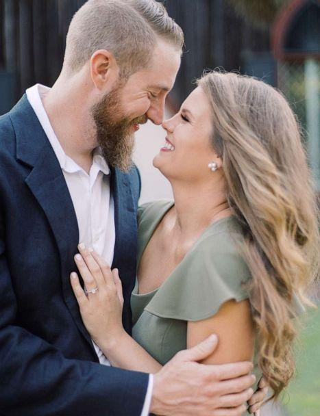 PHOTO: Keali Lay and Jeff Schneider got engaged on August 30, 2019. (Christi Clark Photography)