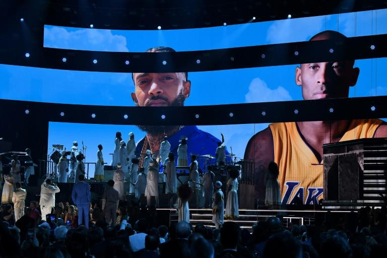 Kirk Franklin, John Legend and DJ Khaled paid tribute to Nipsey Hussle and Kobe Bryant