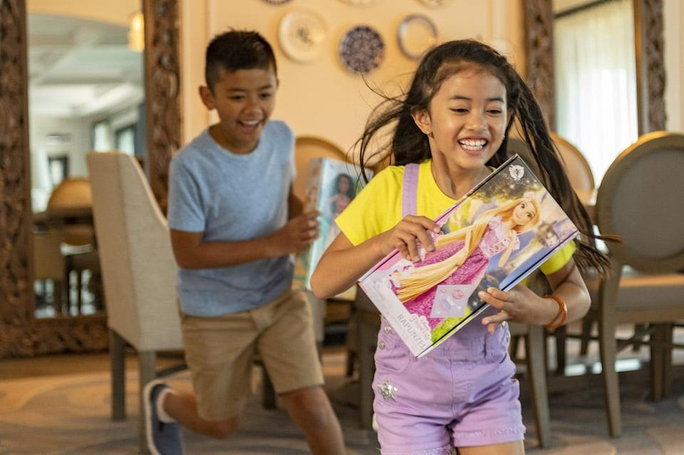 "<p>Disney recently announced its line of classic dolls will soon be available worldwide in <a href=""https://disneyparks.disney.go.com/blog/2021/04/first-look-disney-announces-new-plastic-free-packaging-for-classic-dolls/"" class=""link rapid-noclick-resp"" rel=""nofollow noopener"" target=""_blank"" data-ylk=""slk:plastic-free packaging"">plastic-free packaging</a>. The paper boxes can be used as playtime props or toy storage, or tossed in with the recycling. If you just can't wait for these to show up in-store, they're already <a href=""https://www.shopdisney.com/celebrate-earth-shop/?srule=sorting-option-56"" class=""link rapid-noclick-resp"" rel=""nofollow noopener"" target=""_blank"" data-ylk=""slk:available on shopDisney"">available on shopDisney</a>.</p>"